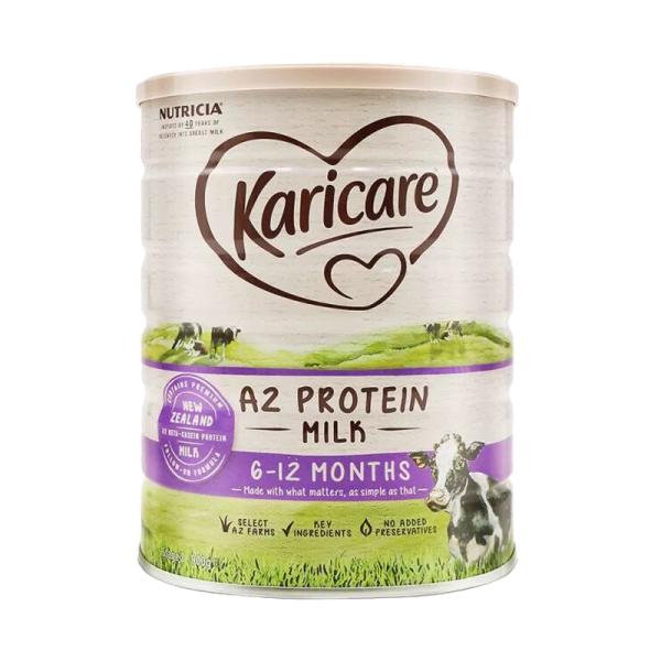 澳洲可瑞康 karicare 奶粉2段 二段 新西兰婴儿 婴幼儿 宝宝 奶粉 可直邮 900g