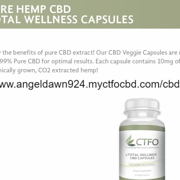 Pure Hemp CBD Total Wellness Capsule