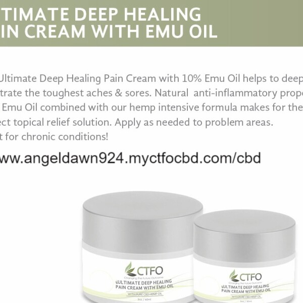 Ultimate Deep Healing Pain Cream (2oz)