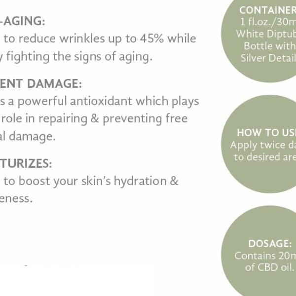 Pure Hemp CBD AM/PM Anti-Aging Moisturizing Cream