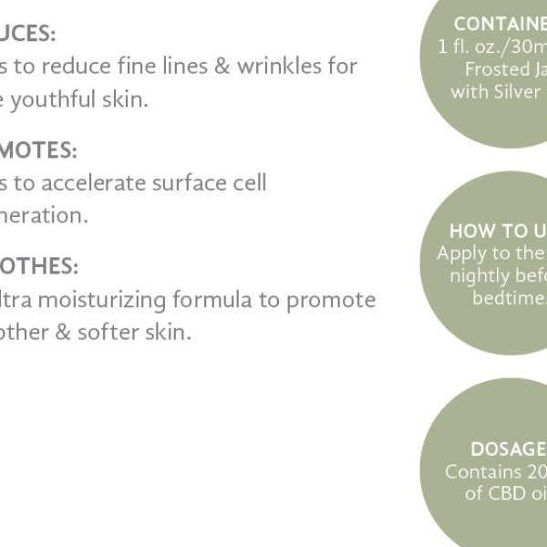 Pure Hemp CBD Overnight Skin Rejuvenator