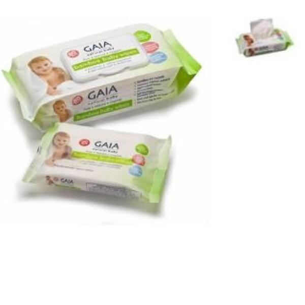 澳洲Gaia 婴儿湿巾 纯竹制造 天然保湿 80片装