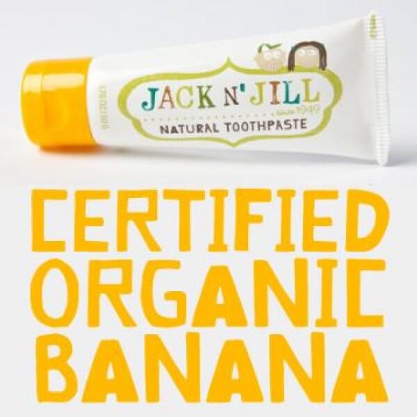 Jack N' Jill 天然香蕉口味儿童牙膏 50g 澳洲制造