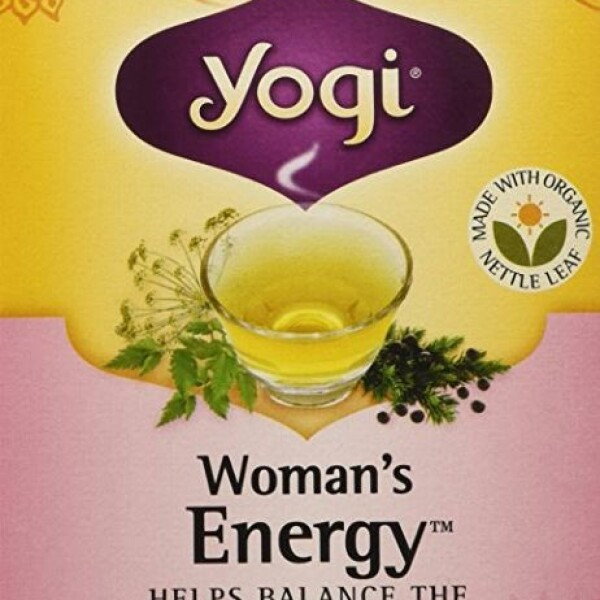 澳洲女士能量茶 女性日常健康茶  日常健康伴侣 16 包 Yogi Woman's Energy Tea 16 bags