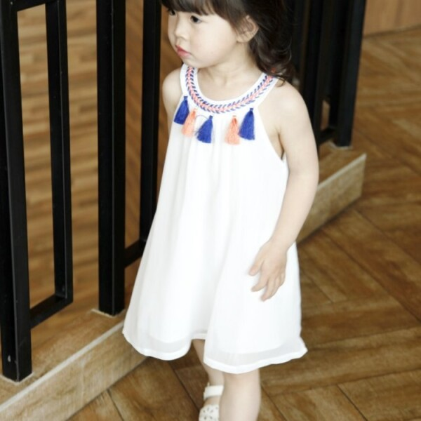 Halter dress for girls