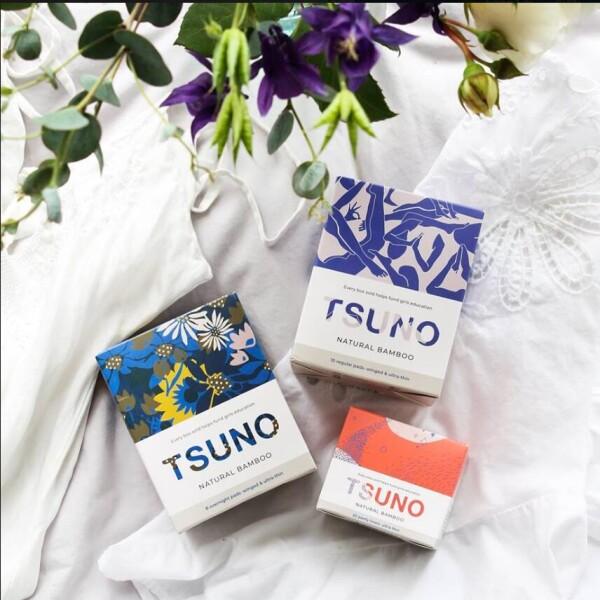 Tsuno常规有机棉卫生面条 澳洲 女性宠爱品牌