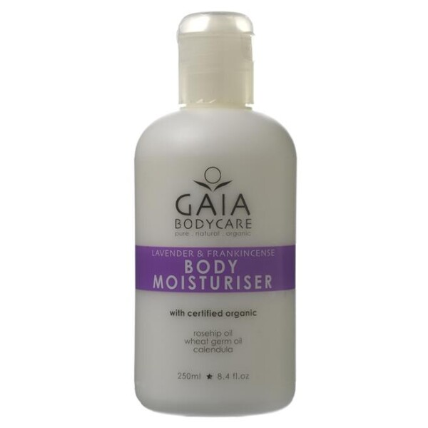 Gaia 盖亚 身体润肤霜 含薰衣草和乳香 250ml 有机认证