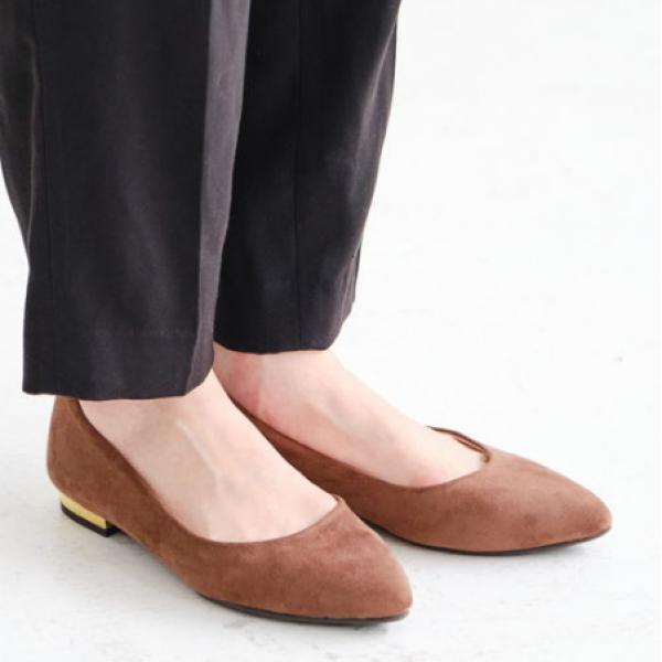 ORiental TRaffic尖头平底鞋  ポインテッドフラットパンプス