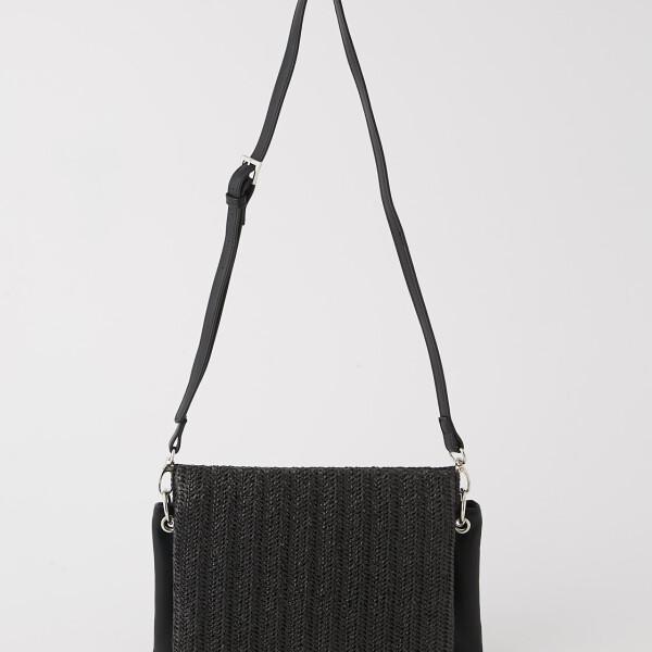 复古清新风三层设计单肩包 日本时尚品牌AZUL by moussy  トリプルブロックショルダーバッグ